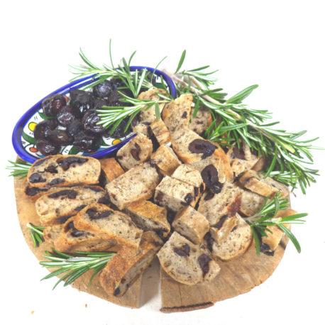 fougasse olive découpée