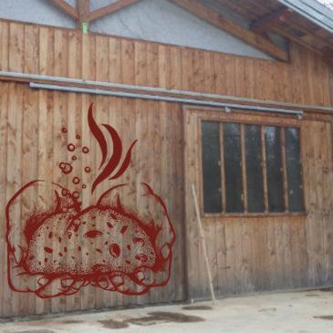À St-Girons, une boulangerie fabrique du pain au levain sur le site d'une école démocratique !