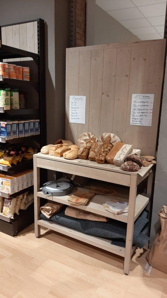 Les pains au levain biologiques vendus chez Biomonde à Saint-Girons
