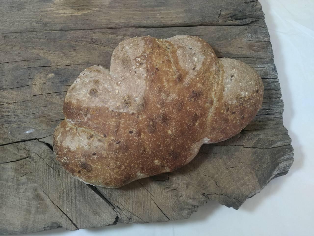 fougasse graines céréales pain bio levain